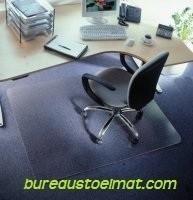 Bureaustoelmat 120cm* 150 cm : voor zachte vloeren (Nieuw in ons assortiment !!)