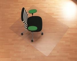 Bureaustoelmat : voor harde vloeren Makrolon ® 150x 120 cm