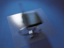 Bureaustoelmat 90 cm* 120 cm (+overige maten) : voor zachte  vloeren Makrolon ®