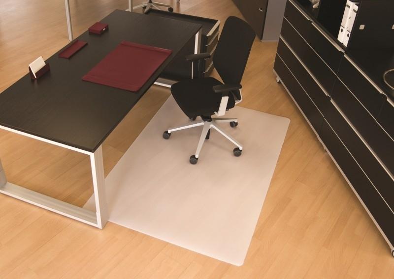 Bureaustoelmat 90 * 120 cm : voor harde vloeren Polypropyleen