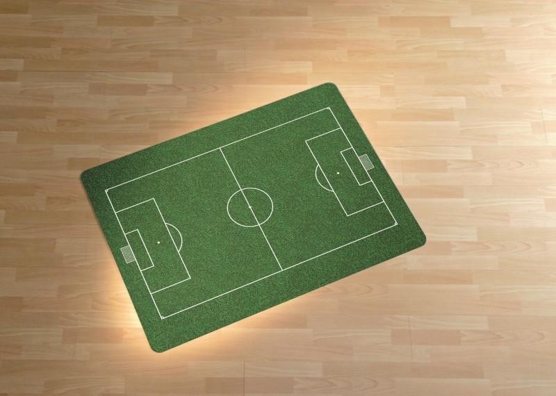 Voetbalveld  design 90 * 120 cm
