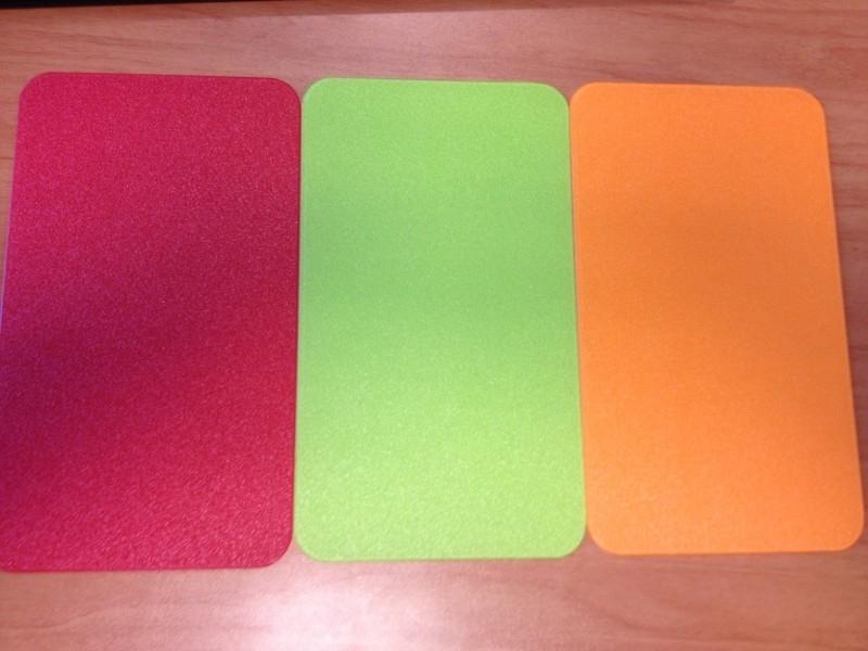 Bureaustoelmat in uw kleur