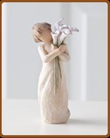 Kind met bloemen: Beautiful wishes