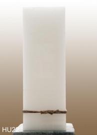 Blanco kaars groot