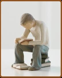 Jongen lezend: Quest