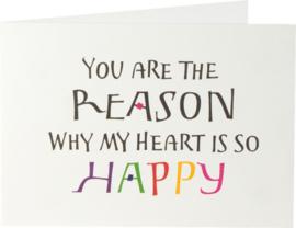 You ar de the reason