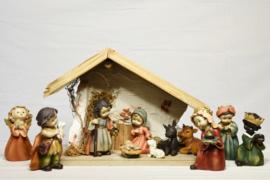 Kerstbeeldjes naief