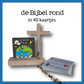 De bijbel rond in 40 kaartjes