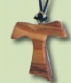Tau-kruisje hout