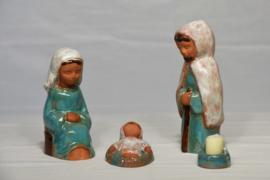 Handgemaakte beeldjes in keramiek