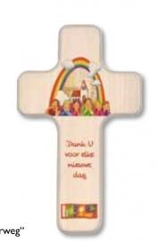 Kruisje met tekst