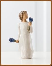 Kind met lavendel: Lavender grace