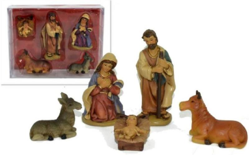 Kertbeelden in polystone
