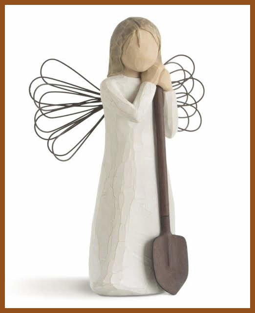 Engel: Willow Tree Garden Angel