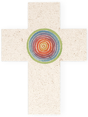 Kruis in natuursteen