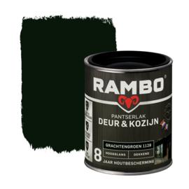 Rambo Pantserlak Deur en Kozijn Dekkend Hoogglans Grachtengroen 1128 750 ml