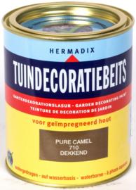 Hermadix Tuindecoratiebeits 710 Pure Camel Dekkend 750 ml
