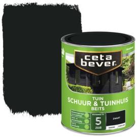 Cetabever Schuur & Tuinhuis Beits ZG Zwart 750 ml