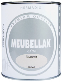 Hermadix Meubellak eXtra Taupewit Krijtmat 750 ml