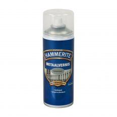 Hammerite Metaalvernis Kleurloos Hoogglans Spuitbus 400 ml