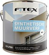 Fitex Synthetische Muurverf Wit 2,5 Liter