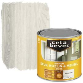 CetaBever Deur-, Kozijn- en Meubelbeits White Wash Zijdeglans 250 ml
