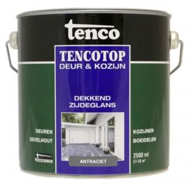 Tencotop Deur & Kozijn Dekkend Zijdeglans Antraciet 2,5 Liter