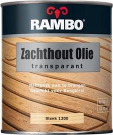 Rambo Zachthoutolie Blank 1200 750 ml