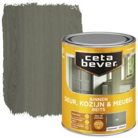 CetaBever Deur-, Kozijn- en Meubelbeits Lei Zijdeglans 750 ml