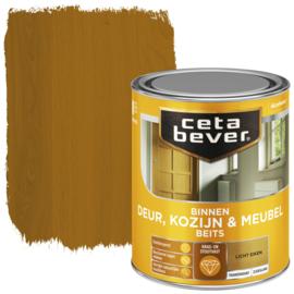 CetaBever Deur-, Kozijn- en Meubelbeits Licht Eiken Zijdeglans 750 ml