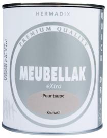 Hermadix Meubellak eXtra Puur Taupe Krijtmat 750 ml