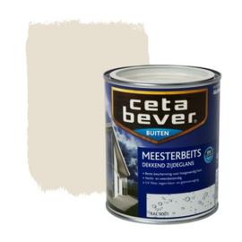 Cetabever Meesterbeits UV Dekkend Zijdeglans RAL 9001 750 ml