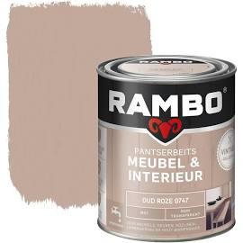 Rambo Pantserbeits Meubel & Interieur Oud Roze 0747 750 ml