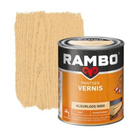 Rambo Pantser Vernis  Mat Kleurloos 0000 250 ml