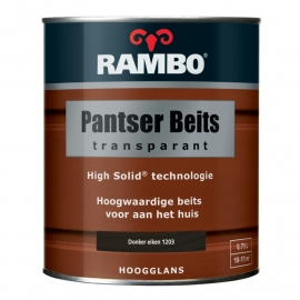 Rambo Pantser Beits Transparant Hoogglans Teakhout 1204 2,5 Liter