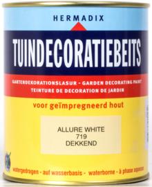 Hermadix Tuindecoratiebeits 719 Allure White Dekkend 750 ml