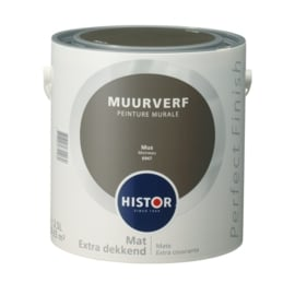 Histor Perfect Finish Muurverf Mat  Mus 6947 2,5 Liter