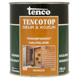Tencotop Deur & Kozijn Transparant Halfglans Redwood 750 ml