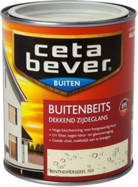 Cetabever Buitenbeits UV Dekkend Bentheimergeel 703 750 ml