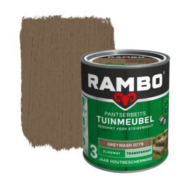 Rambo Pantserbeits Tuinmeubel Greywash 0779 750 ml