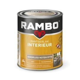 Rambo Pantserlak Interieur Vergrijsd Noten 0778 MAT 750 ml