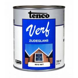 Tenco Verf Zijdeglans Wit 9010 750 ml