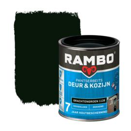 Rambo Pantserbeits Deur en Kozijn Dekkend Hoogglans Grachtengroen 1128 750 ml
