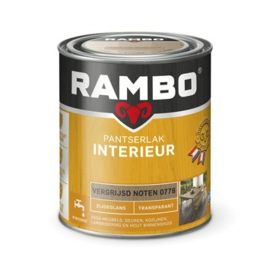 Rambo Pantserlak Interieur Vergrijsd Noten 0778 ZIJDEGLANS 750 ml