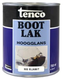 Tenco Bootlak Hoogglans 900 Rijnwit 750 ml