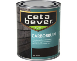 Cetabever Carbobruin Mat Bruin 750 ml