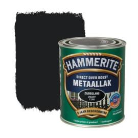 Hammerite Metaallak Zijdeglans Zwart Z260 750ml