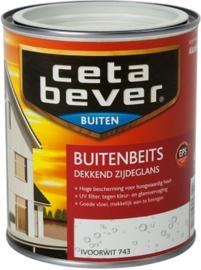 Cetabever Buitenbeits Dekkend Ivoorwit 743 750 ml