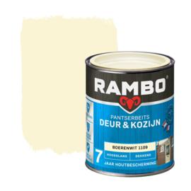 Rambo Pantserbeits Deur en Kozijn Dekkend Hoogglans Boerenwit 1109 750 ml