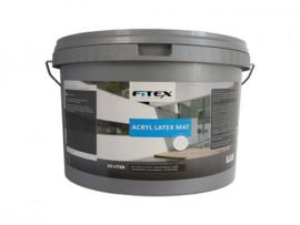 Fitex Acryl Latex Mat 2,5 Liter